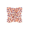 Purple & Orange Spot Cheetah Mini Scarf