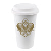 Monogrammed Holiday To-Go Coffee Cups 16oz