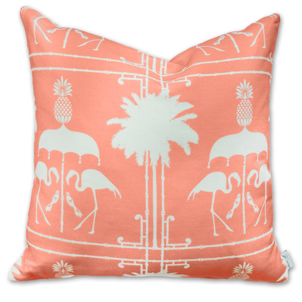 Pillow - Flamingo Bamboo Melon