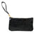 Leather Piper Wristlet- Croco