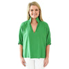 Poppy Top - Shamrock Green