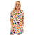 Poppy Dress - Multi Spot Cheetah
