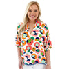Poppy Top - Multi Spot Cheetah