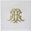 1-Letter Monogrammed Cocktail Napkins