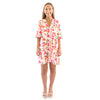 Savannah Caftan Dress - Spring Mix Spot Cheetah