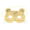 Leopard Mask Birthday Card