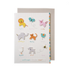 Animal Sounds Greeting Card