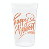 Happy Harvest Stadium Cups