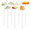 Cheese Lovers Acrylic Stir Sticks