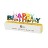 Happy Birthday Candles- Rainbow Glitter Dipped