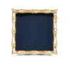 Bamboo Cocktail Napkin Tray - Navy