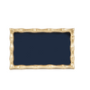 Bamboo Guest Towel Tray - Navy