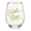 Wine Glass - Holiday Cheer