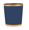 Colorblock Oval Wastebasket - Navy