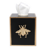 Colorblock Square Tissue Box Cover - Bee