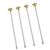 Bee Happy Swizzle Sticks - Set of 4