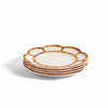 Bamboo Touch Salad Plate with Bamboo Rim