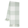 Buffalo Check Throw - Seaglass