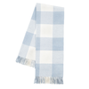 Buffalo Check Throw - Baby Blue