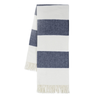 Rugby Stripe Throw - Navy