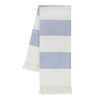 Rugby Stripe Throw - Denim