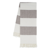 Rugby Stripe Throw - Barnwood