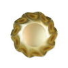 Satin Gold Wavy Dessert Bowls- Set of 8