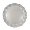 Wavy Salad Plate- Pearly White