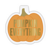 Pumpkin Die Cut Napkins