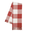 Buffalo Check Throw - Red Poppy