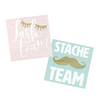 Lash & Stache Team Napkins