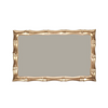 Bamboo Guest Towel Tray - Taupe