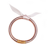 Baby Prayer All Weather Bangle - Rose Gold
