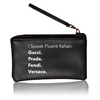 Vegan Leather Pouch - Fluent Italian