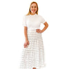 Tiered Skirt - Island Dot
