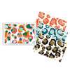 Lucite Tray & Spot Cheetah Patterned Inserts - 11x17
