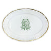 Thanksgiving Crest Oval Weave Platter