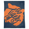 School Spirit Plush Blanket - Go Tigers (face)