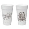 Thanksgiving Crest Foam Cups