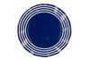 Wavy Salad Plate- Summer Navy
