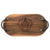 "Monogrammed 20"" Oval Board - Walnut"