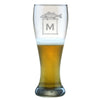 Monogrammed Weizenbier Glass Set