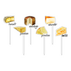 Cheese Please Fromage Acrylic Sticks Combo