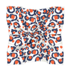 Navy & Orange Spot Cheetah Gameday Scarf