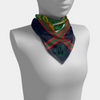 Monogram Stripe Mini Scarf - Various Colors