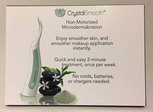 CrystalSmooth Microdermabrasion Countercard Display (wholesale accounts only)