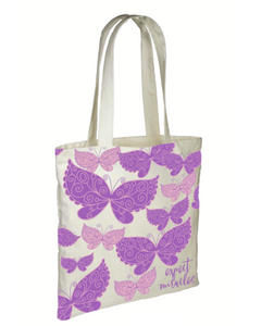 Expect Miracles Butterfly Tote