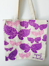 """Expect Miracles"" Butterfly Tote"