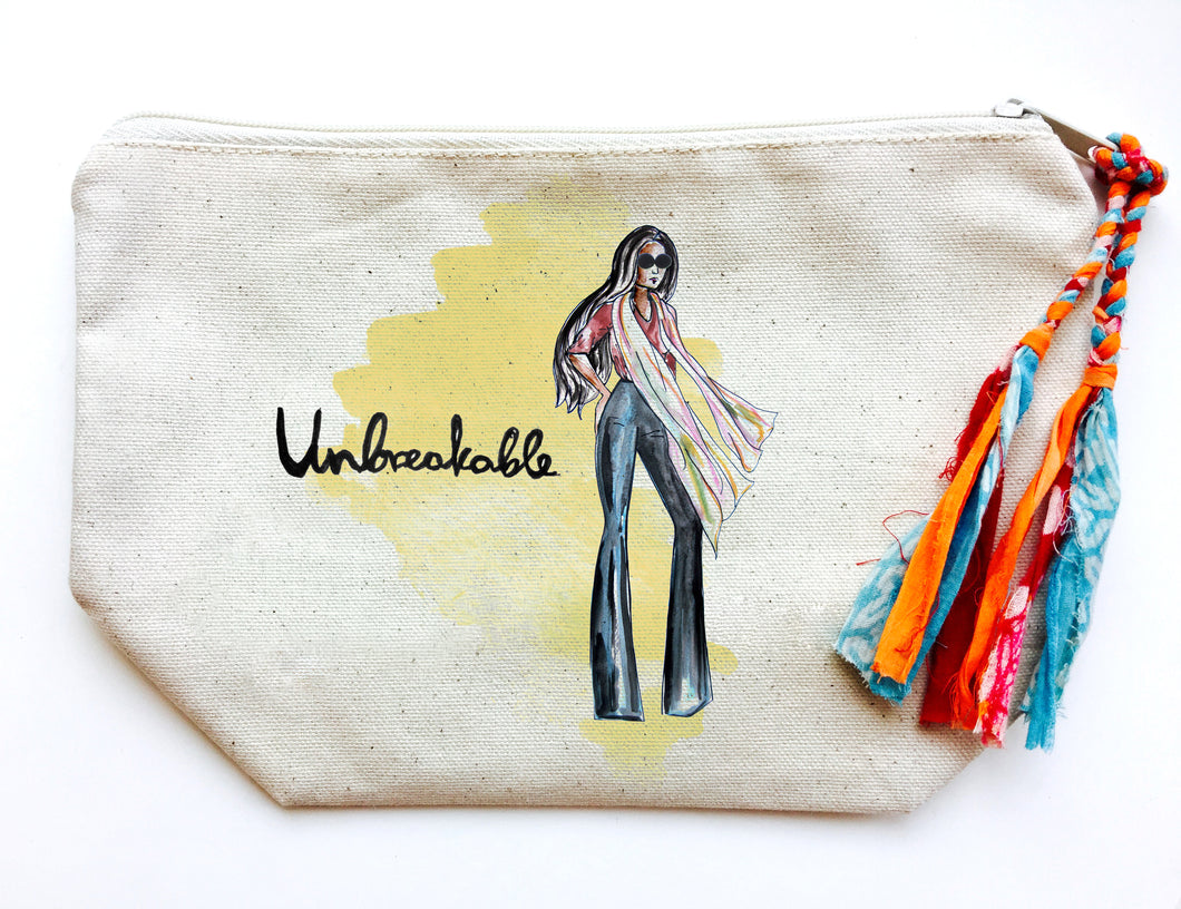Unbreakable Makeup Bag (Medium)