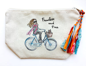 Fearless & Free Makeup Bag (Medium)